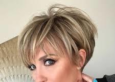 Balejaż krótkie włosy