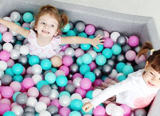 Suchy basen z piłeczkami dla dzieci