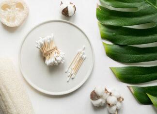 bambusowe patyczki do uszu